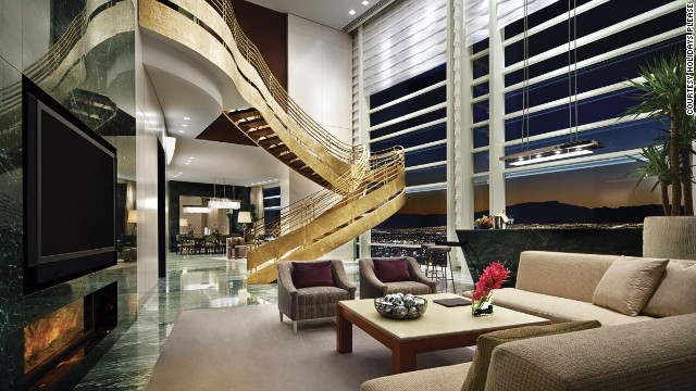 No over-the-top, absurdly decadent vacation is complete without a stay in Vegas.