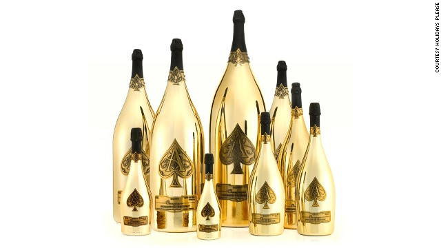 """While in Monte Carlo, they'll party at Flavio Briatore's Billionaire Sunset Lounge in the Hotel Fairmont Monte Carlo, quaffing selections from the $565,000 """"in-house Armand de Brignac Dynastie"""" champagne collection."""