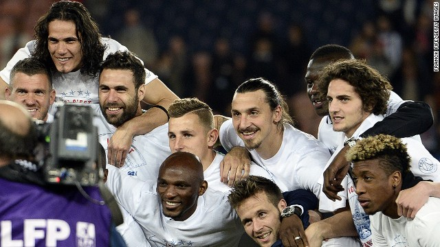 Like City, Paris Saint-Germain has been sanctioned by UEFA for breaking its financial fair play rules, having won the French league title for the second season in a row.