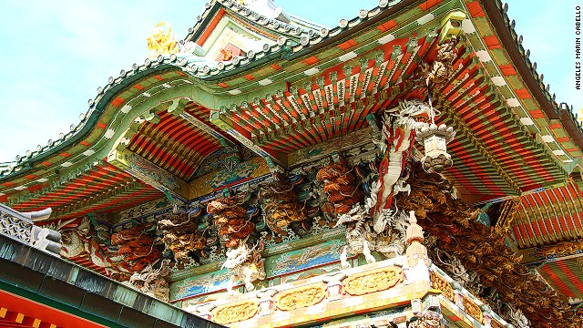 It's the details that make Koyonomon Gate at Ikuchi Island's Kosanji Temple so photogenic.