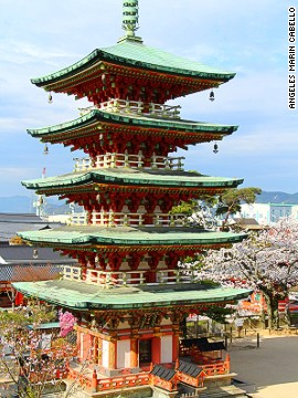 Kosanji Temple's five-tiered pagoda is also located on Ikuchi Island.