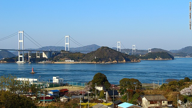 At 4,045 meters long, Kurushima Bridge is the<a href='http://www.roadtraffic-technology.com/features/feature-the-worlds-longest-suspension-bridges/' target='_blank'> longest suspension bridge in the world</a>.