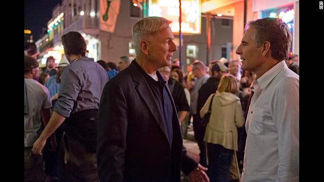 Mark Harmon (left) and Scott Bakula star in CBS'