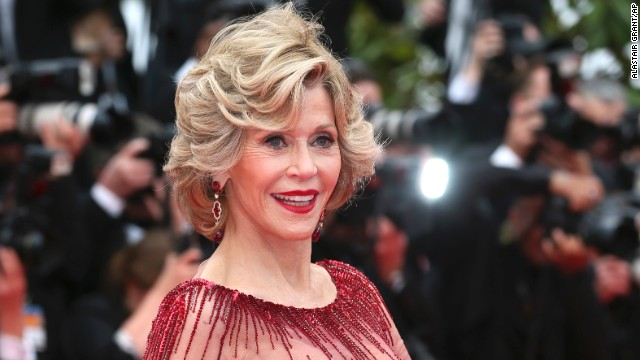 Actress Jane Fonda on May 14