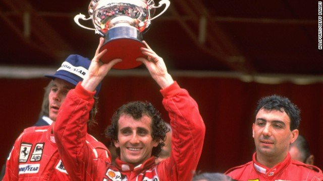Prost won the Monaco Grand Prix four times -- the last of which came in 1988.