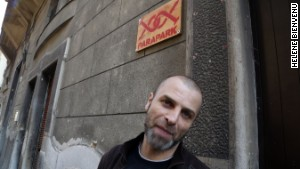 Hard cellar: Attila Gyurkovics, Parapark\'s creator.