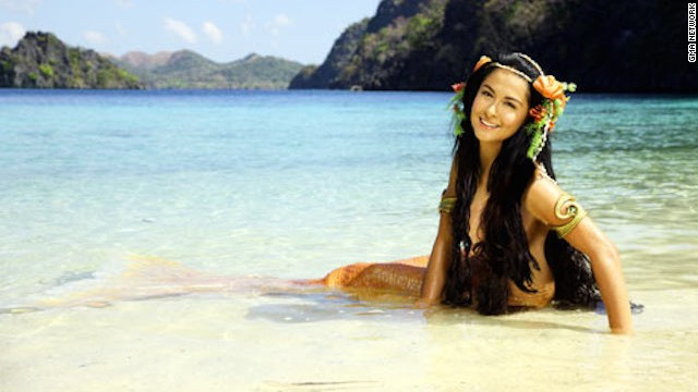"Born with fins instead of legs, the child is named Dyesebel. When the community is hit with a series of catastrophes, the town blames Dyesebel. This compels her parents to offer their only daughter to the sea in the Philippines show ""Dyesebel."""