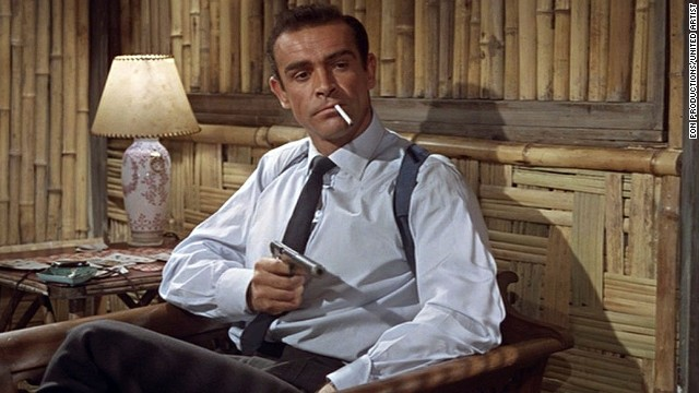 "Before Daniel Craig or Pierce Brosnan, there was Sean Connery, who starred in the first James Bond film, ""Dr. No,"" in 1962. With the most recent Bond film released in 2012 (""Skyfall""), <a href='http://www.cnn.com/SPECIALS/2012/bond'>the James Bond series</a> is the longest running film series of all time."