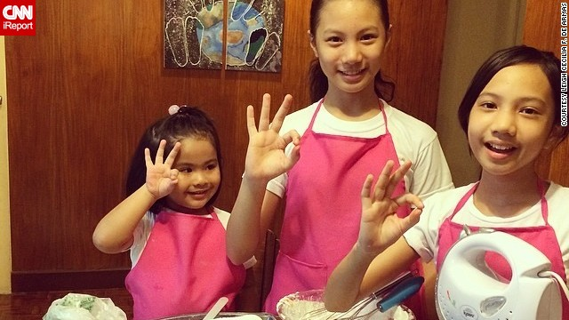 "The De Armas sisters -- Leila, 13, Julia, 12, and Sophia, 3 -- started baking cupcakes in 2012 after they saw their father baking his ""special cookies."" They took 11 months to test the quality of their recipe, and the girls officially formed TresMarias Cupcakes this year."