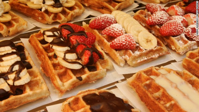 When in Brussels, don't forget to nibble on a waffle. Like Copenhagen, the Belgian capital is one of eight cities to host a last-16 match.