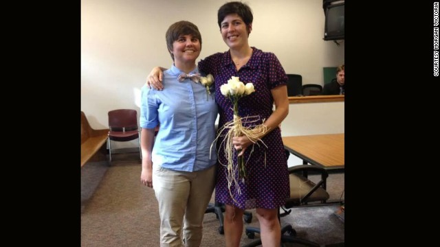 Victoria and Rosenlund were legally married in Washington state in September 2013.