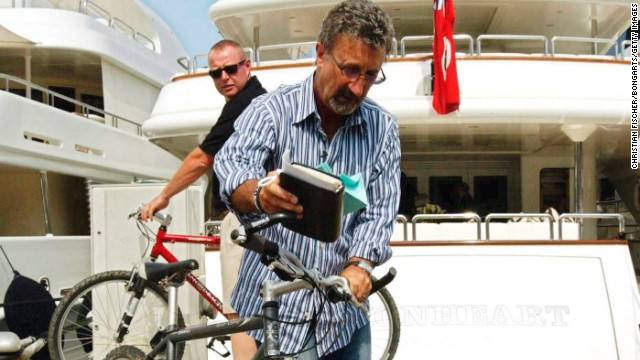 If the cars and yachts get too much, a getaway on a bike is always an option, as shown by former team boss Eddie Jordan.