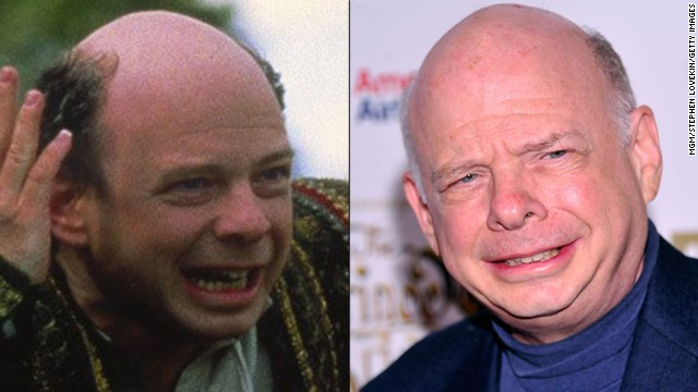 "Wallace Shawn's such a beloved actor, it's<a href='http://www.youtube.com/watch?v=1-b7RmmMJeo' target='_blank'> inconceivable</a> to pick a favorite role. But his turn as the evil mastermind with a poor vocabulary, Vizzini, is definitely in our top three. One of Shawn's upcoming film roles is in another family-friendly project called ""Robo-Dog,"" due out in 2015."