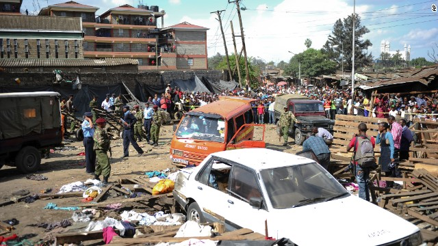 "Security forces secure the scene in Nairobi. The travel alerts from Western governments had warned of a ""high threat"" of terrorist attacks."