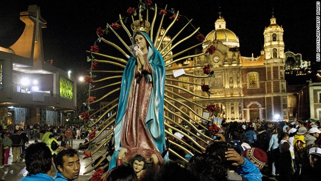 No one does Virgin Mary devotion like Mexicans, 84% of whom are Catholic. Our Lady of Guadalupe, Mexico's patron saint, is venerated at the Basilica of Guadalupe in Mexico City in an annual celebration.