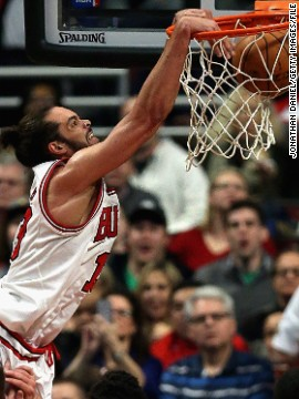 "Noah's sporting prowess transferred to his son Joakim, who plays for the Chicago Bulls. The 29-year-old is a two-time NBA All Star and was voted 2014's Defensive Player of the Year. Noah said of his son: ""Every time I see him getting introduced, I get emotional, I get tears in my eyes."""