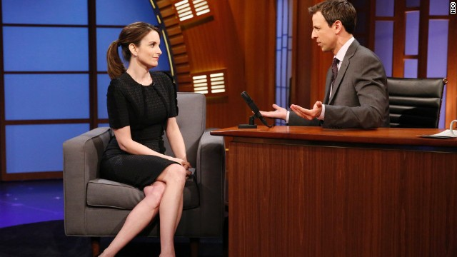 Tina Fey explains the lack of women in late night