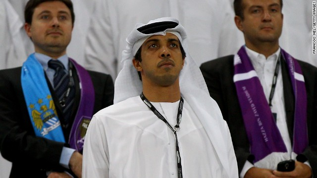 Manchester City owner Sheikh Mansour bin Zayed Al Nahyan has invested huge sums in the English club since buying it in 2008.