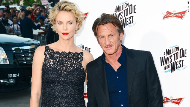 Charlize Theron on dating Sean Penn: It's natural