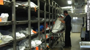 There are more than 800 unidentified bodies inside the morgue in Pima County, Arizona. Investigators believe many of them are immigrants who died in the desert. Authorities hope DNA testing can help desperate families find missing loved ones who died on the trek into the United States.