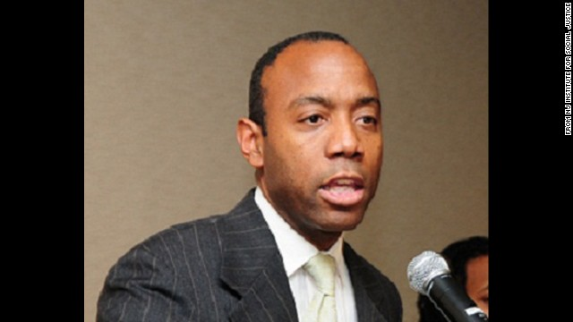 Cornell William Brooks is a lawyer and longtime human rights activist.