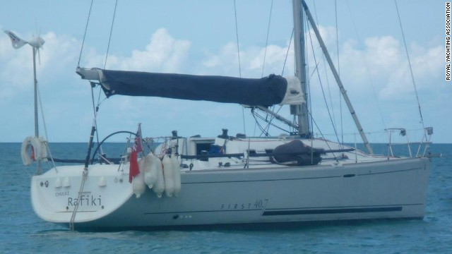 The crew of the Cheeki Rafiki, a 12-meter yacht headed to the United Kingdom from the Caribbean, contacted the shore to report that the yacht was taking on water on Friday, May 16.