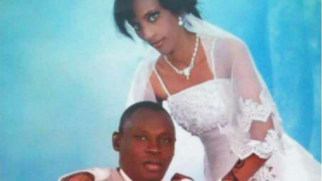 Meriam Yehya Ibrahim, 27, and her husband, Daniel Wani.