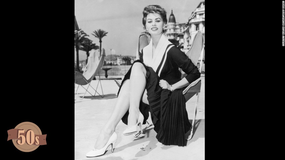 Since its inception in 1947, Cannes Film Festival has always been as much about the fashion as the films. Over seven decades the Cannes carpet has seen its fair share of both fashion faux pas and phenomenons, the highlights of which are documented here; starting with Sophia Loren. One of the early aficionados of Cannes glamor, the Houseboat actress attended the eighth festival in this nautical ensemble. Her simple pleats and modest white heels are a far cry from today's lavish outfits.