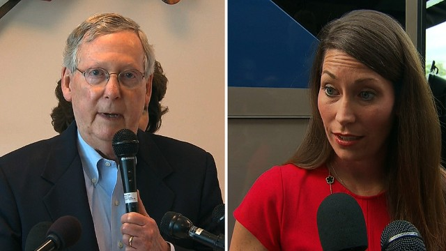 First on CNN: New Grimes TV ad hits McConnell on women's issues