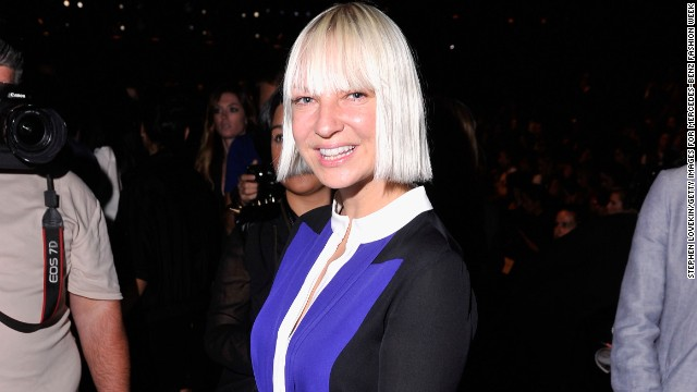 Sia eschews the cameras on 'Ellen'