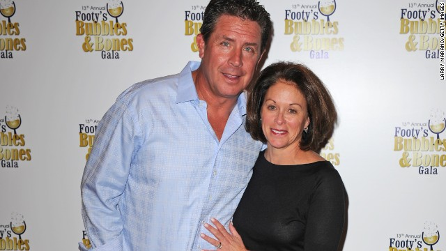 "Former football player Dan Marino and wife Claire have been married since 1985. In 2013, it came to light that the legendary quarterback allegedly had an affair and child with a production assistant at CBS Sports in 2005. <a href='http://nypost.com/2013/01/31/exclusive-nfl-legend-dan-marino-had-a-love-child-with-cbs-employee-in-2005/' target='_blank'>In a statement issued to the New York Post</a>, Marino said: ""'This is a personal and private matter. I take full responsibility both personally and financially for my actions now as I did then."""