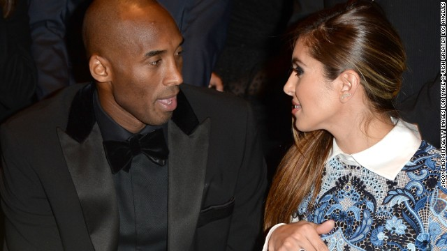 """NBA champion Kobe Bryant and wife Vanessa Bryant married in 2001. In 2003, she stuck by him after he was accused of sexually assaulting a 19-year-old hotel clerk in Colorado. He called the encounter consensual and the criminal charges were eventually dismissed. Vanessa Bryant<a href='http://edition.cnn.com/2011/12/16/sport/kobe-bryant-divorce/index.html'> filed for divorce in 2011</a>, citing """"irreconcilable differences,"""" but in 2013 <a href='http://edition.cnn.com/2013/01/12/sport/kobe-divorce-off/'>the couple called off their divorce</a>."""