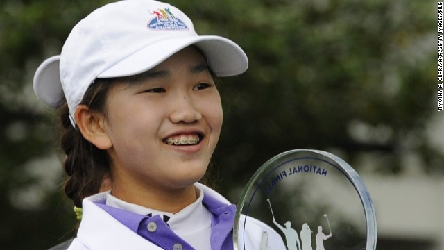 Lucy Li became the youngest player to qualify for the U.S. Women's Open, aged just 11. She missed the cut at June's tournament at Pinehurst, but made a big impression.