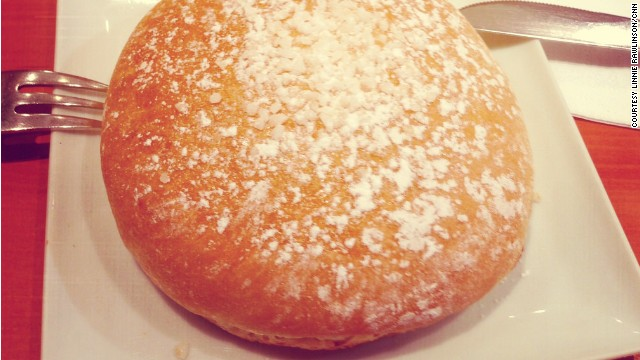 The Pomponette, a local specialty, is a humble brioche bun flavored with orange-flower water.