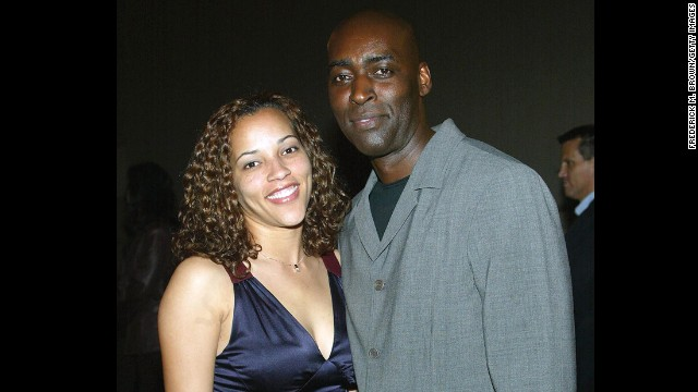 "Actor Michael Jace, right, has been arrested in connection with the fatal shooting of his wife, April. Jace formerly appeared on the hit FX show ""The Shield."" His case is the latest of many shocking crimes in the showbiz world:"