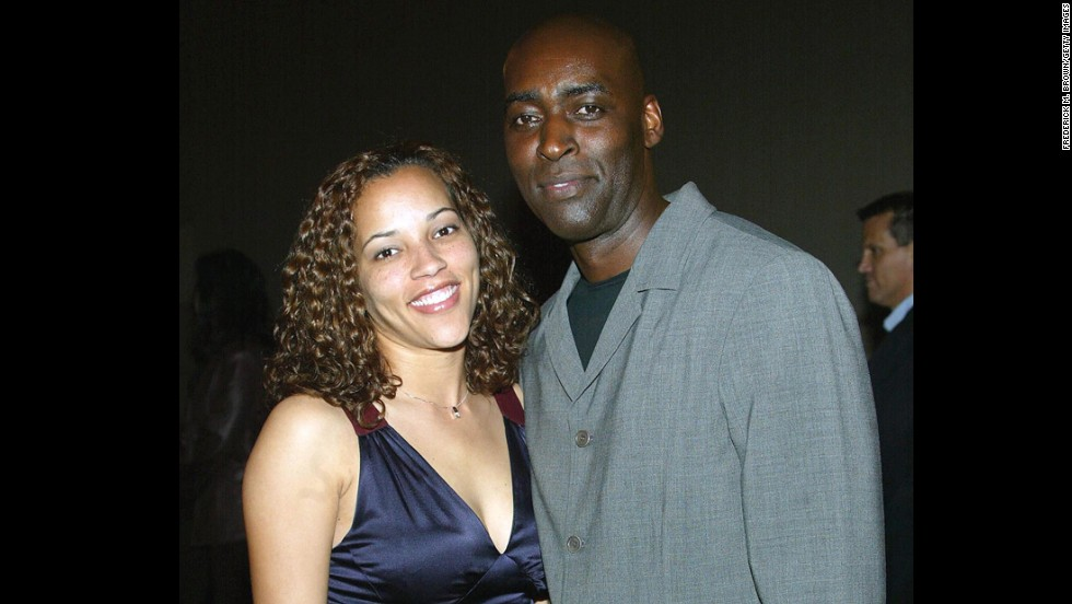 """Actor Michael Jace, right, has been arrested in connection with the fatal shooting of his wife, April. Jace formerly appeared on the hit FX show """"The Shield."""" His case is the latest of many shocking crimes in the showbiz world:"""
