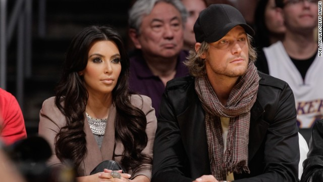 For a nanosecond in 2010 -- which is Kardashian time for a few weeks -- Kim Kardashian dated model Gabriel Aubry after he broke up with Halle Berry. The rumor at the time was that Berry wasn't happy with the idea of reality show cameras being anywhere near daughter Nahla, whom she welcomed with Aubry in 2008.