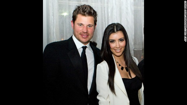 "What could Nick Lachey and Kim Kardashian possibly have in common? Well, in 2006 they were both single and looking for love. This pairing, which occurred roughly six months after Lachey's breakup with Jessica Simpson, was basically one viewing of ""The Da Vinci Code"" and done. Lachey is pretty convinced Kardashian used the date to gain publicity."
