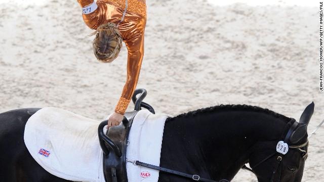 Acrobatics on horses
