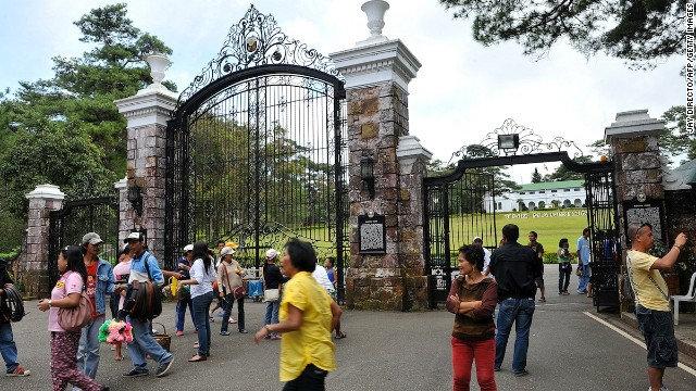 In Baguio, the Mansion House is the summer residence of the Philippines president.