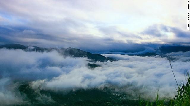The cloud ocean, as seen from Kiltepan.