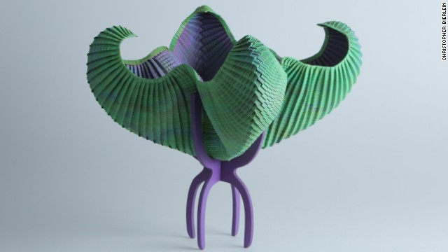 "The possibilities for origami keep expanding. ""The most major change over the past twenty years is that artists have begun to write software to help them design their forms,"" Nguyen says. ""Others have taken the style in a different direction, opting for more abstract, concept-driven structures than representational models."""