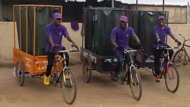 Using a fleet of low-cost cargo bicycles, the startups collects the waste from local people and then sells it on to recycling factories.