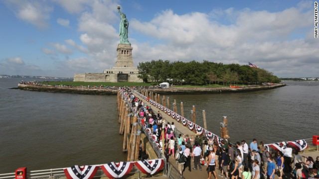 Protections have already been added to the Statue of Liberty and Ellis Island in New York, but will they be enough in an era of climate change? Listing 30 at-risk sites, a report released by the Union of Concerned Scientists contends rising seas are endangering many of America's landmarks. Here's a look at some of them: