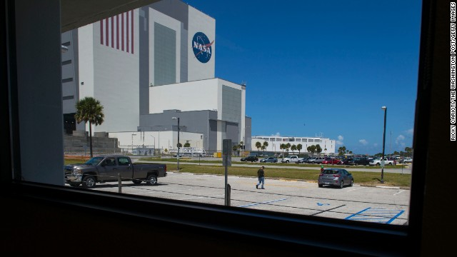 "The Kennedy Space Center, along the Atlantic Coast in Florida, has seen recent restoration and protection efforts ""undone"" by storm surges."