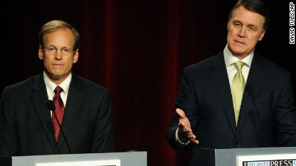 Showdown for GOP nomination in key Senate race