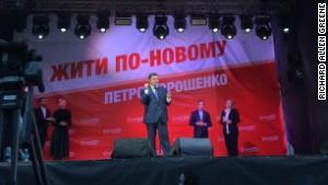 The man likely to be Ukraine\'s next president, billionaire Petro Poroshenko, vows not to talk to \