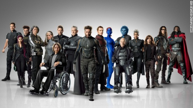 "Behold the massive cast of ""X-Men: Days of Future Past."" The movie is based on a <a href='https://comicstore.marvel.com/X-Men-Days-of-Future-Past/digital-comic/26714' target='_blank'>classic ""X-Men'""storyline</a> from the comic books. Because of the time travel element, it gathers characters from all of the previous ""X-Men"" movies. Here's a look at the characters in their comic and film incarnations:"