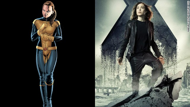 "Ellen Page reprises her role as Kitty Pryde, a fan favorite in the comics. Word has it that her role is larger here than it was in ""Last Stand."""