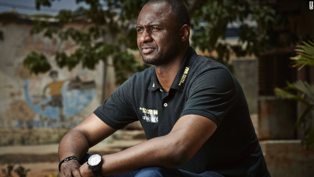 "Despite playing for France, Patrick Vieira hails from Senegal. ""This is where I was born, this is where my parents were born, this is where my grandparents were born, so that's why every time I come back to Senegal, to Dakar, it's very emotional,"" he told CNN."